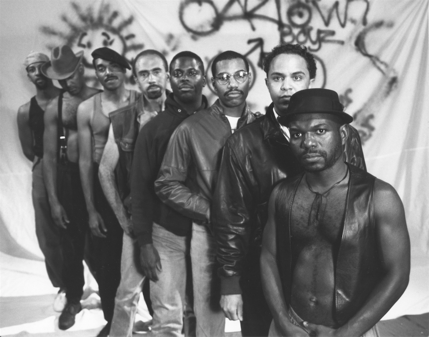 Production still from Marlon Riggs, Tongues Untied (1989). Video. Image courtesy of Signifyin' Works.