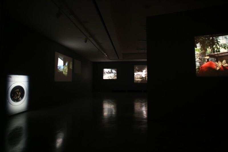 João Maria Gusmão and Pedro Paiva, installation view, REDCAT, Los Angeles, 2015. Photo: Rafael Hernandez.