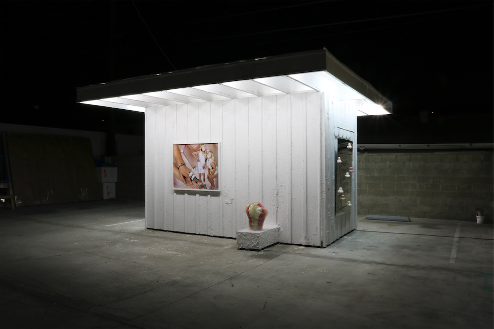 F.B.I., (installation view) (2015). Image courtesy of Arturo Bandini.