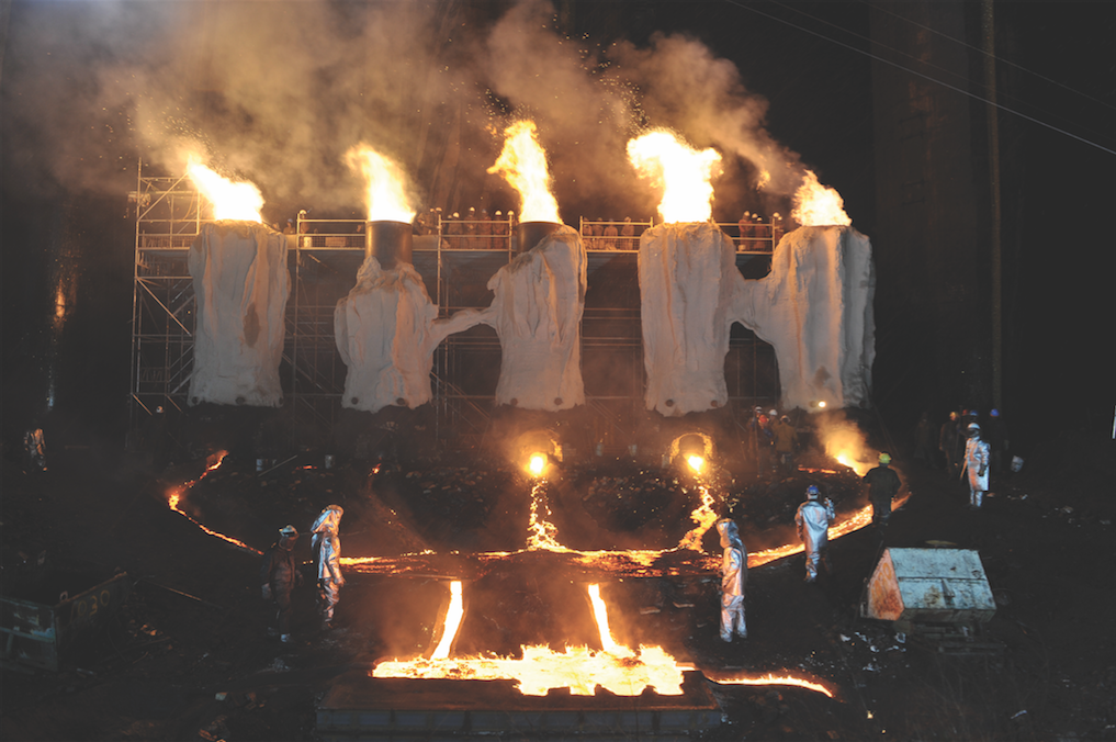 Matthew Barney, film still from RIVER OF FUNDAMENT (2015). Image courtesy of The Museum of Contemporary Art, Los Angeles. Photo: Fredrik Nilsen.