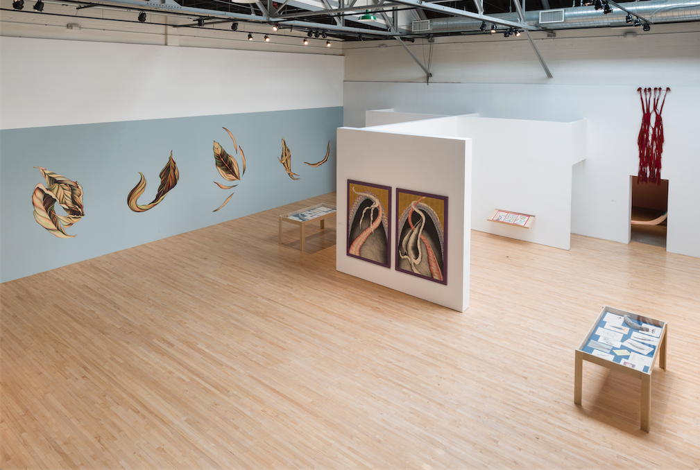 Fearful Symmetries (installation view) (2015). Image courtesy of the artist and the Armory Center for the Arts, Pasadena. Photo: Jeff McLane.