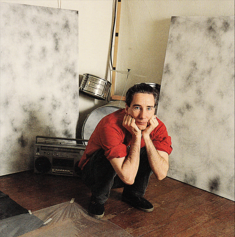 Mike Kelley photographed by Marva Marrow. Inside the L.A. Artist. Salt Lake City: Peregrine Smith, 1988. Print.