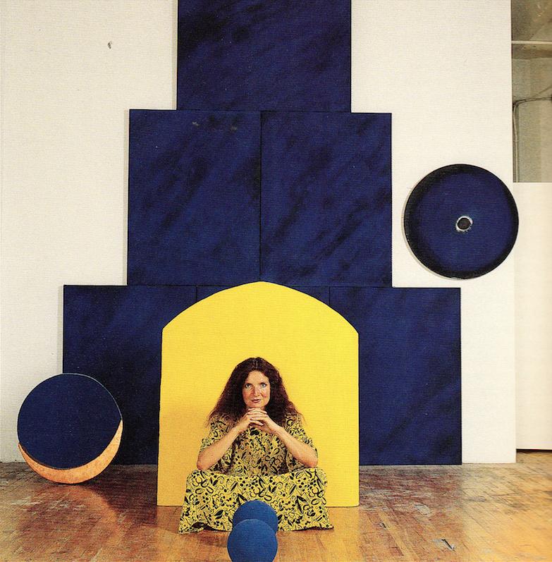 Lita Albuquerque photographed by Marva Marrow. Inside the L.A. Artist. Salt Lake City: Peregrine Smith, 1988. Print.