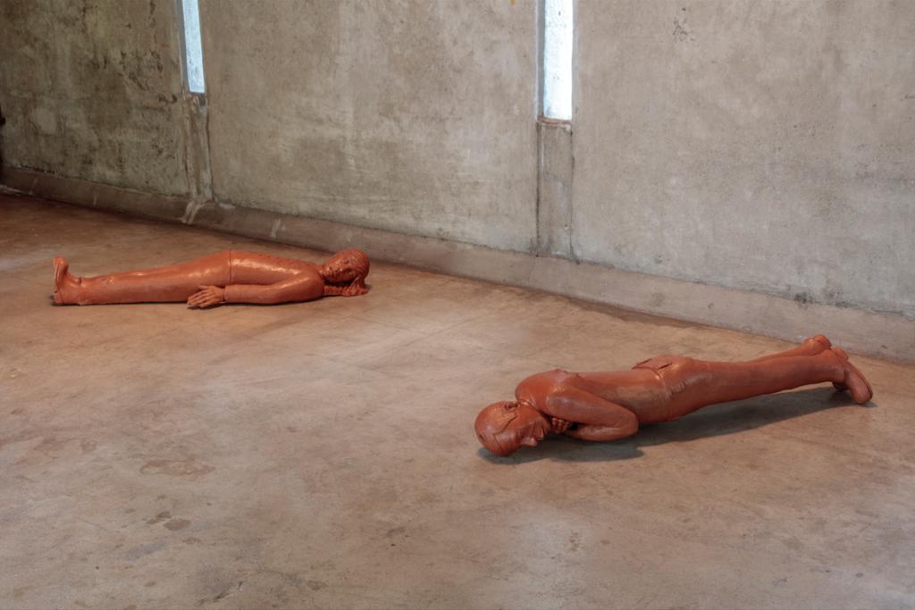 Galería Perdida, Recto Verso (2016). Terracotta. Image courtesy of the MAK Center. Photo: Joshua White.