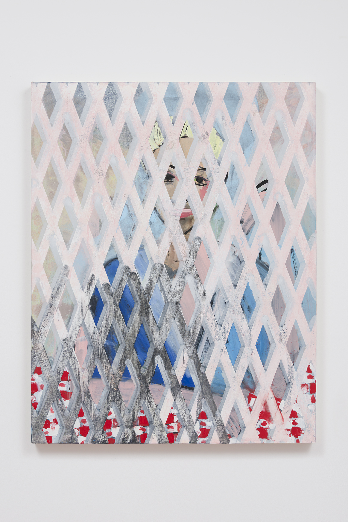 Becky Kolsrud - Woman with Gate (Shadow)