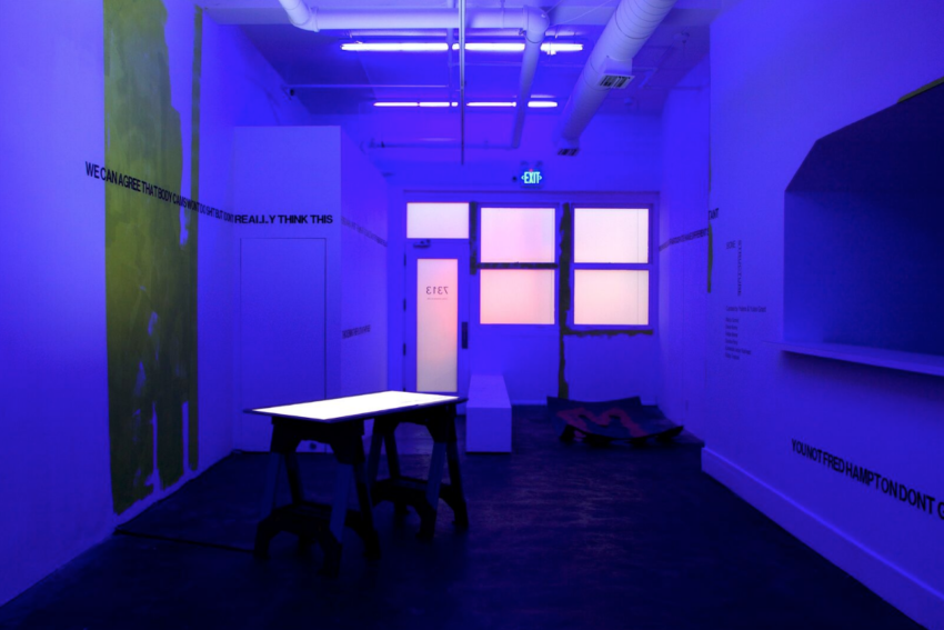 Bone Structure at AA|LA (installation view). Image courtesy of the artists and AA|LA. Photo: