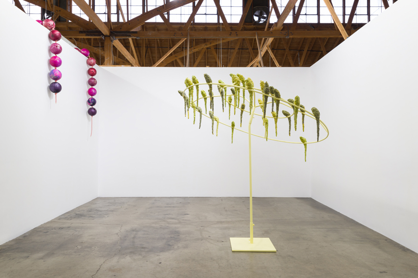 Installation view, Kathleen Ryan, Weightless Again, Ghebaly Gallery